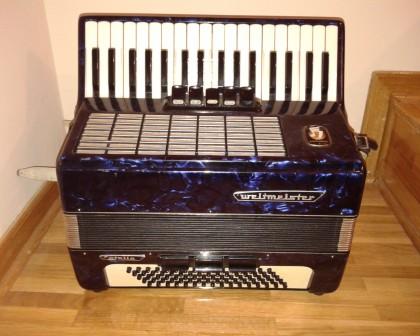 plava harmonika - weltmaister 80 basova